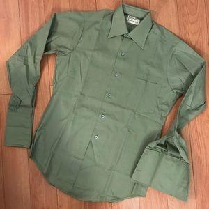 Vintage Van Huesen French Cuff Shirt, S